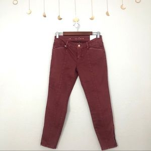 The skimmer jeans red vintage style Bnwt size 2s
